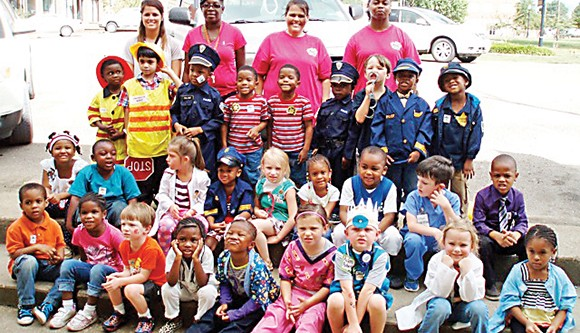 CCES kindergarteners visit area businesses