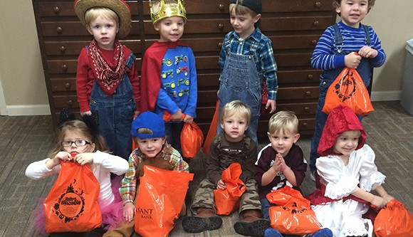 Creative Learning Center Trick-or-Treaters