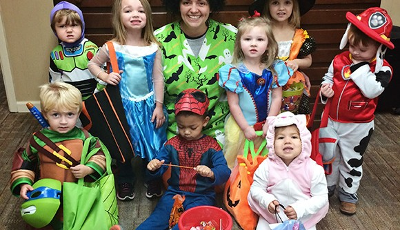 Tiny Tots Day Care Trick or Treating
