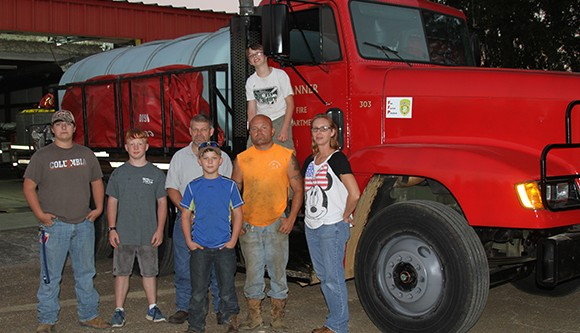 Banner Fire Department gets new truck