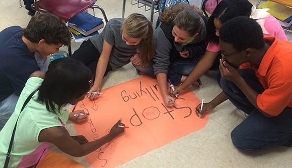 Unity Day at Calhoun City Middle School
