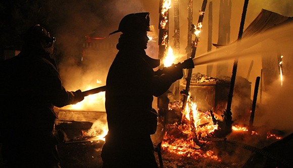 Calhoun City house fire