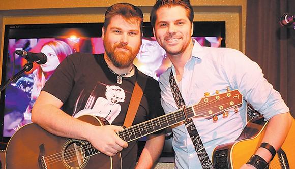 Brassfields performing in Nashville