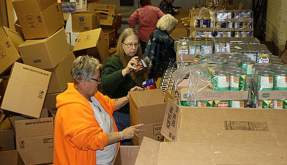 Food Pantry in Bruce