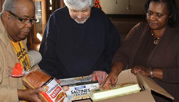 Rotary Christmas Baskets