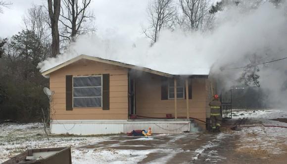 Derma House Fire
