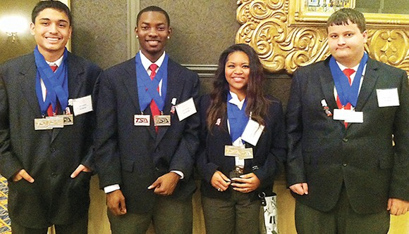 Technology team advances to Nationals