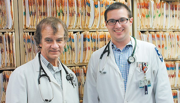 Medical student at Wells' Clinic
