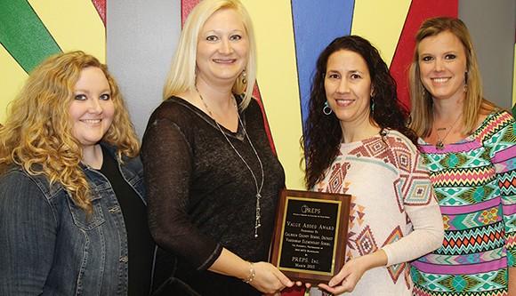 VES earns math PREPs award