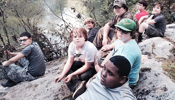 Calhoun City Scouts go backpacking in Alabama