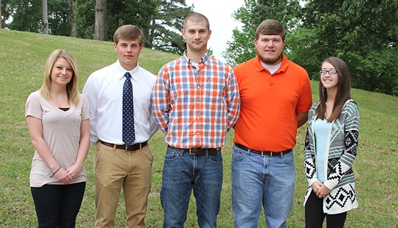 Calhoun City Top Five GPA