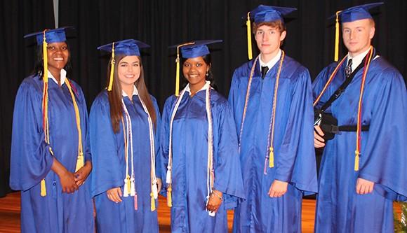 Bruce High School Top Five GPA
