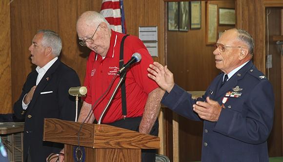 Memorial Day service in Calhoun City