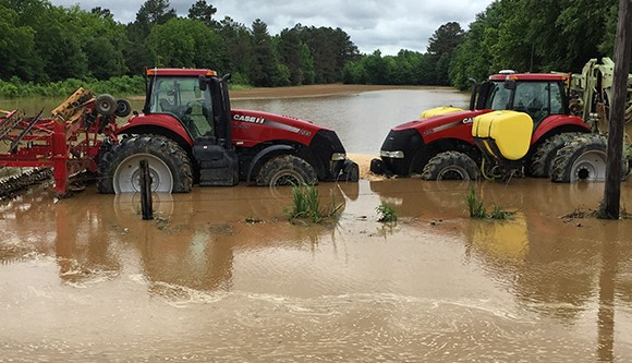 Flooding in Calhoun County