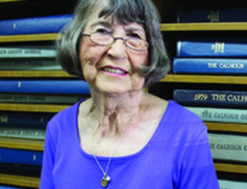 First female Rotarian; still love gardenia bush