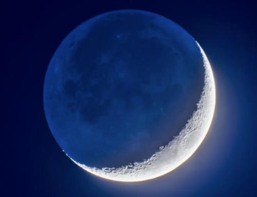 Grenada Lake is full; saw the new moon