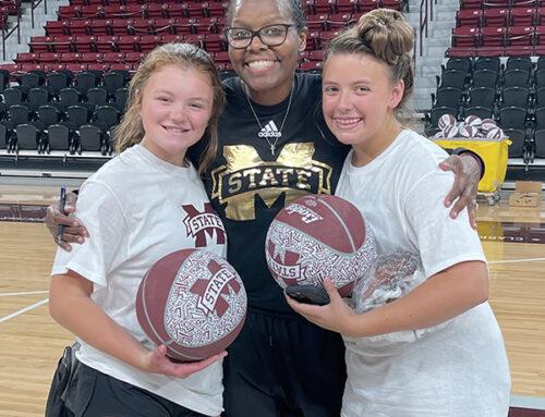 Calhoun Countians attend MSU basketball camp
