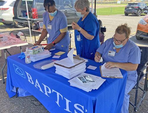 Baptist Calhoun Offers More Drive-Thru COVID-19 Vaccinations