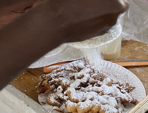 'Bringing the Fair' to you, one funnel cake at a time